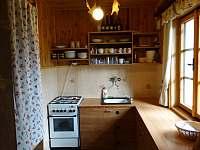 Kuchyně - pronájem chaty Staré město pod Landštejnem