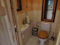WC - pronájem chaty Staré město pod Landštejnem