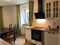 kuchyně apartmán 1