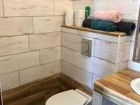 wc - chalupa ubytování Hamr u Chlumu u Třeboně