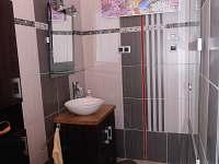 Koupelna - chata ubytování Blatná