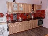 Kuchyně - chata ubytování Blatná