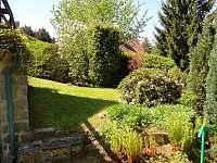 Zahrada - chata k pronájmu Voltýřov
