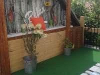 terasa pro hosty2 - pronájem chalupy Hroznějovice