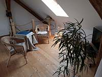 obývací část - pronájem apartmánu Suchdol nad Lužnicí