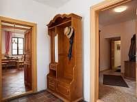 Interiér chalupy - k pronájmu Sudoměřice u Bechyně