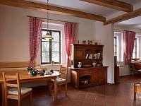 Interiér chalupy - ubytování Sudoměřice u Bechyně
