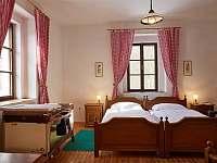 Ložnice - pronájem chalupy Sudoměřice u Bechyně