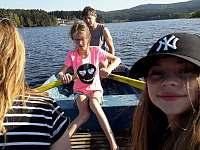 Projížďka po jezeře - chalupa k pronajmutí Hrdoňov