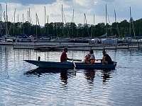 Projížďka po jezeře - Hrdoňov
