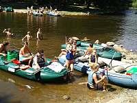 Rafting na Vltavě - Hrdoňov
