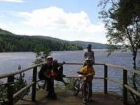 Výlet okolo jezera - chalupa k pronájmu Hrdoňov