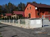 Chaty a chalupy Pěnenský rybník - Dřevo na chatě k pronajmutí - Malý Ratmírov