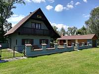 Chata k pronájmu - dovolená  Ratmírovský rybník rekreace Horní Skrýchov