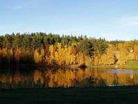 rybník - 200m - Dobrkovská Lhotka