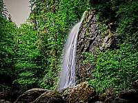 Terčino údolí (vodopády) - Kondrač