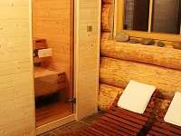 Finská sauna + odpočívárna (přízemí)