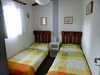 Ložnice - apartmán k pronájmu Jindřiš