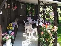 pergola na zahradě - Dynín - Lhota