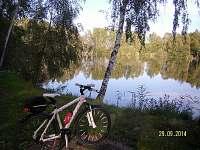 vynikající možnost vyjížděk na kole do krásné okolní přírody,zde možnost rybařit