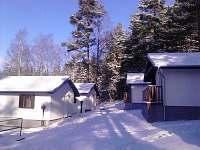 zima Chaty Holiday Lipno areál