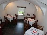 Jídelná a společenská místnost - ubytování Albeř