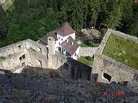 Pohled z věže Landštejna - Albeř