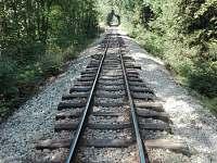 Železniční romantika - ubytování Albeř