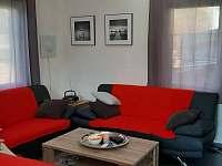 Obývací pokoj - chata ubytování Slupečná