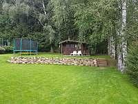 Zahrada + trampolína 3,6 metru - Slupečná