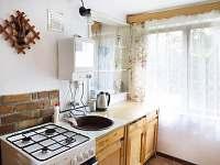 Kuchyň - chata k pronájmu Mladošovice - Lhota