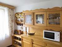 Kuchyň - chata k pronajmutí Mladošovice - Lhota
