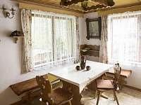 Obývací pokoj - pronájem chaty Mladošovice - Lhota