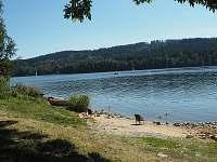 Soukromá pláž - chata k pronájmu Frymburk - Lojzovy Paseky