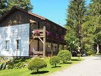 Správcovská budova s občerstvením - chata k pronajmutí Frymburk - Lojzovy Paseky