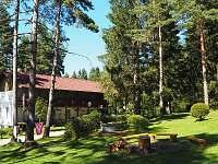 Správcovská budova s občerstvením - chata ubytování Frymburk - Lojzovy Paseky