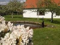 ze zahrady - chalupa ubytování Světlá pod Javořicí