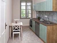 Apartmán č. 1 kuchyně - ubytování Písek