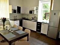Kuchyň - apartmán ubytování Chlum u Třeboně