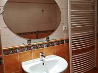 Koupelna - chalupa k pronájmu Lomnice nad Lužnicí