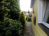 Pohled ze vstupních dveří - chalupa k pronajmutí Lomnice nad Lužnicí