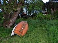 kanoe a pramička k využití