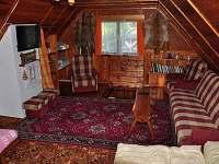 Ložnice s TV v patře