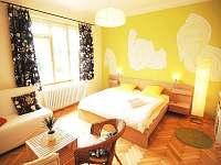 Apartmán Klubko celkový pohled na ložnici