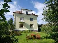 Vila Jasmína - pohled ze zahrady