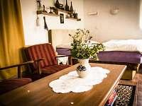 Ložnice - obývací pokoj