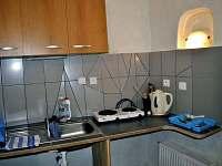 kuchyňka - přízemí