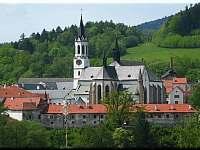 klášter 400m - Vyšší Brod