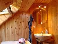 koupelna 2 - pronájem chalupy Vlastiboř