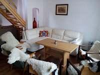 obývací pokoj 1 - chalupa k pronajmutí Vlastiboř